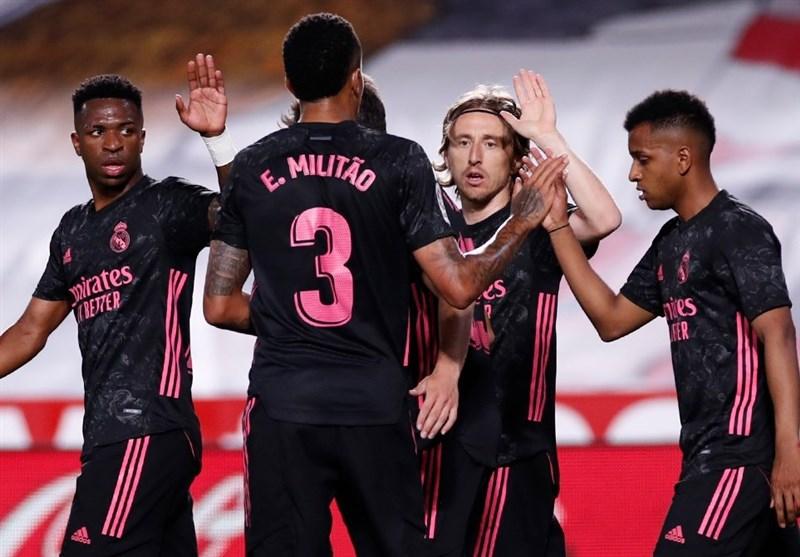 لالیگا| رئال مادرید پیروز شد و در رقابت قهرمانی باقی ماند