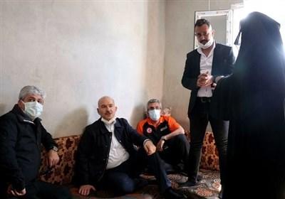 سفر وزیر کشور ترکیه به ادلب سوریه