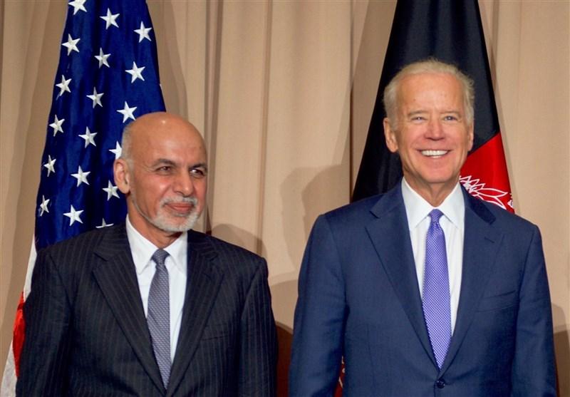 گفتگوی تلفنی بایدن و اشرف غنی درباره اوضاع افغانستان