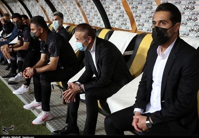 پیروانی: در دربی به تیمم و مربی ما بیاحترامی کردند، من هم جوابشان را دادم/ باید به آلکثیر بگوییم اگر گل زد دیگر شادی نکند!