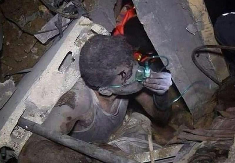 جنایت وحشیانه صهیونیستها در اردوگاه «الشاطئ» شهر غزه