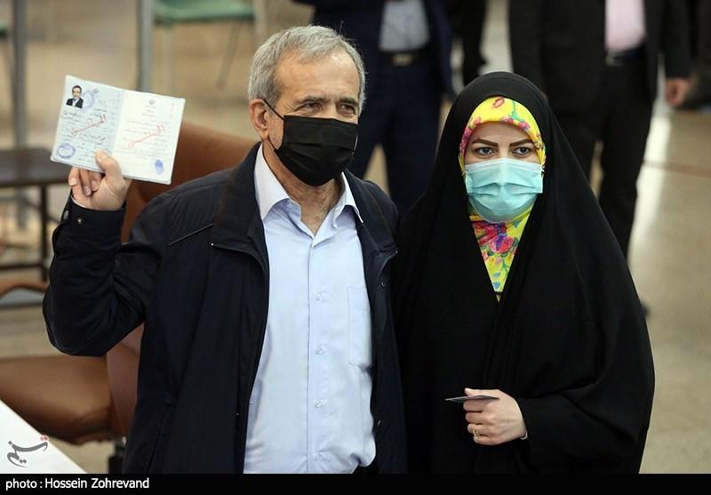 حضور مسعود پزشکیان در ستاد انتخابات کشور