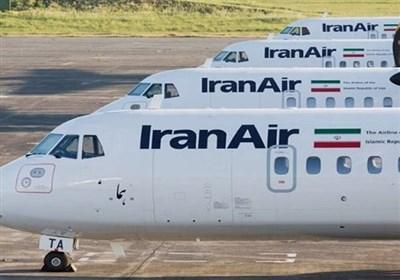 فرود ایران ایر در باند ورشکستگی