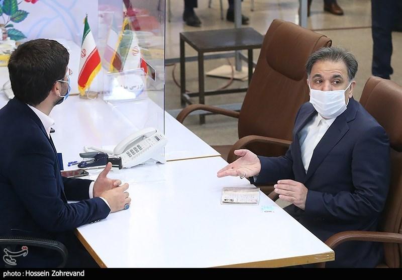 حضور محمد جواد آخوندی در ستاد انتخابات کشور