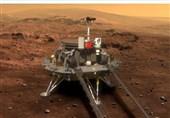 کاوشگر چینی هم بر سطح مریخ فرود آمد!