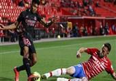 آثار دلخراش تکل خشن بازیکن گرانادا روی پای هافبک رئال مادرید + عکس