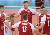 دیدار دوستانه والیبال| لهستان بر بلژیک غلبه کرد