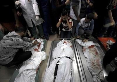 8 شهداء وأکثر من 40 جریحاً جراء غارات الکیان الصهیونی الأخیرة على غزة
