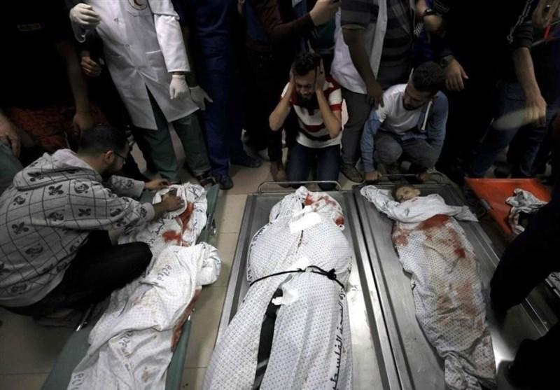 197 شهیدا و1235 جریحا خلال أسبوع من العدوان على غزة