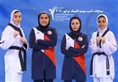 دختران تکواندوکار، دوشنبه برای کسب سهمیه راهی اردن میشوند