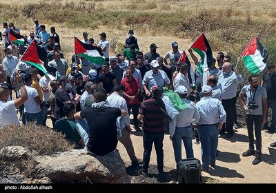 Palestinians in West Bank Voice Support for Quds, Resistance