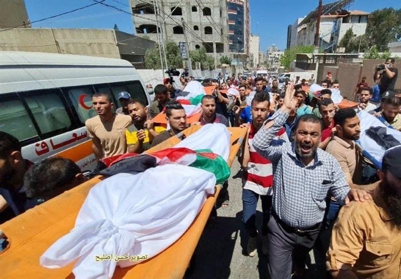 غزة تعلن ارتفاع عدد شهداء العدوان الى 139 شهید