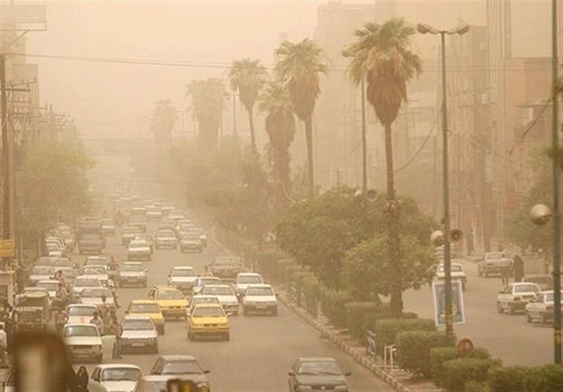 قرارگیری هوای دو شهر در شرایط ناسالم