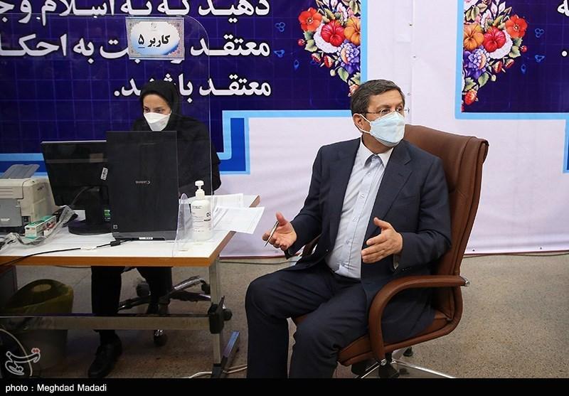 حضور عبدالناصر همتی در ستاد انتخابات کشور