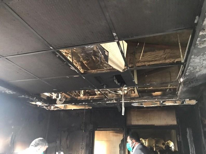 آتشنشانی , سازمان آتشنشانی تهران , آتشسوزی , حوادث , بیمارستان ,