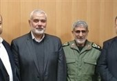 IRGC Quds Force Voices Support for Palestine