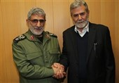 العمید قاانی : ایران تساند الحق الفلسطینی فی مواجهة الانتهاکات الصهیونیة