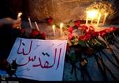 تجمع خودجوش تبریزیها در حمایت از مردم مظلوم فلسطین + تصویر