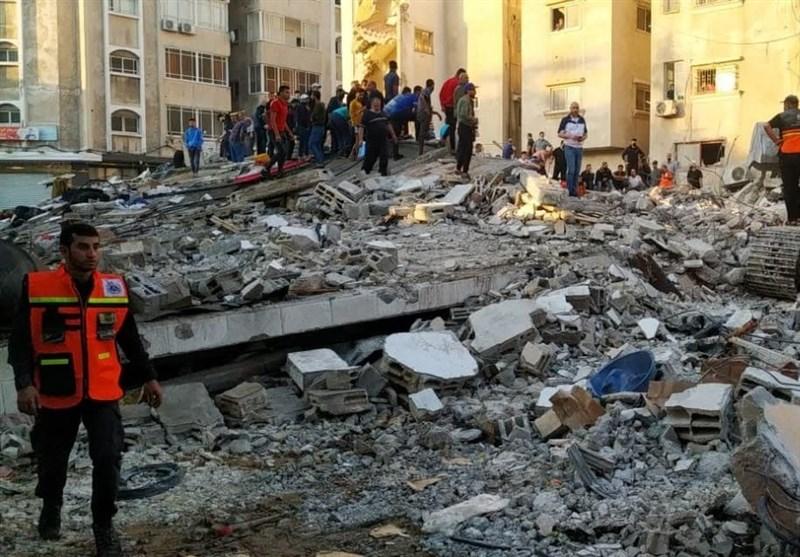 مکتب رعایة مصالح إیران فی مصر: سیتم إعادة بناء غزة لکن هیبة إسرائیل الکاذبة لن یعاد بناؤها