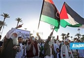 سومین روز تظاهرات مردم لیبی در حمایت از فلسطین