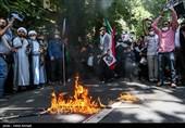 گروههای مردمی تبریز در دفاع از مردم مظلوم فلسطین تجمع برگزار میکنند