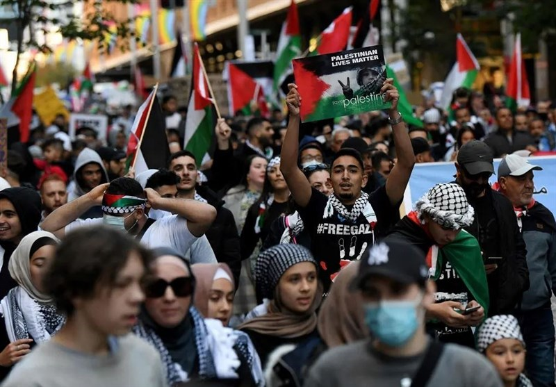 Thousands March in Free Palestine Rallies in Sydney (+Video)