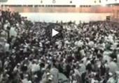 2 کشته و دهها زخمی در پی فرو ریختن سکوی یک کنیسه در شرق قدس+فیلم