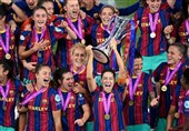 بارسلونا فاتح لیگ قهرمانان بانوان اروپا شد