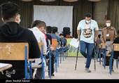 نخستین روز برگزاری امتحانات حضوری دانش آموزان کرمانی به روایت تصویر