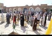 تجمع طلاب و روحانیون یزد در حمایت از مردم فلسطین و افغانستان+ تصاویر