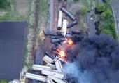 Train in Iowa Hauling Hazardous Materials Derails, Catches Fire
