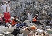 غزة.. 200 شهیداً و 1305 اصابة جراء العدوان الصهیونی