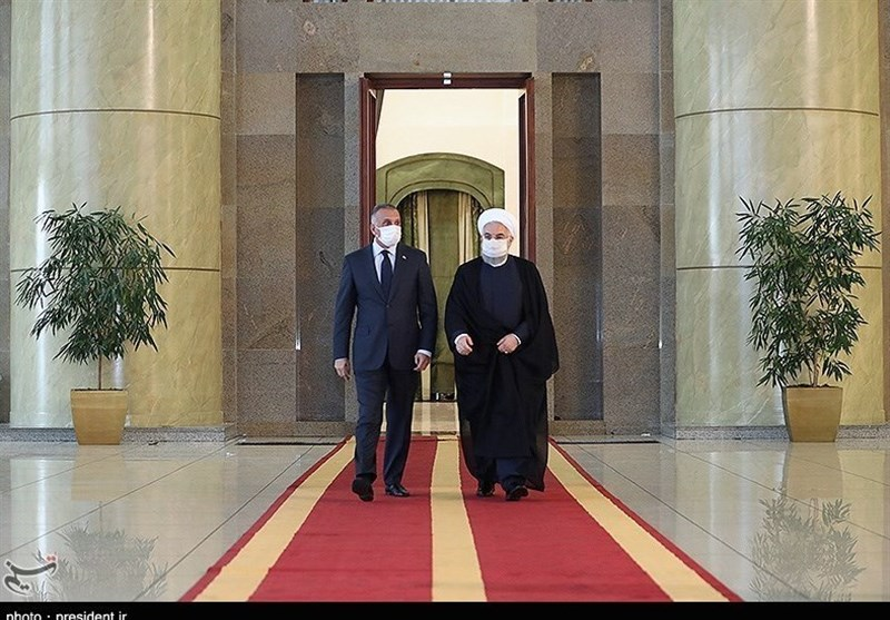 Iranian Preident Hails Iraq's Stances in Support of Palestine