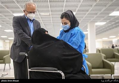 واکسیناسیون سالمندان بالای ۷۵ سال در ایران مال covid-19