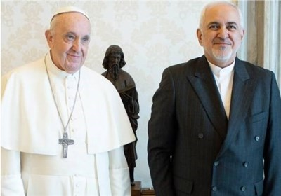 Zarif Hails Pope's Stances on Palestine, Sanctions