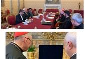 دیدار ظریف با نخست وزیر و وزیر خارجه واتیکان