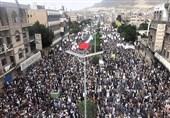 حماسه عظیم یمنیها در همبستگی با ملت فلسطین+فیلم و تصاویر