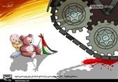 کاریکاتور/ رژیم کودککُش صهیونیستی