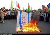 راهپیمایی خودرویی در حمایت از مردم مظلوم فلسطین