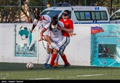 تساوی ایران و روسیه در دومین بازی دوستانه فوتبال نابینایان
