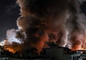 لحظه به لحظه با تحولات فلسطین| حملات هوایی شدید رژیم صهیونیستی به مراکز دولتی غزه/ حمله راکتی به اراضی اشغالی
