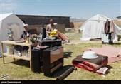 24 ساعت بعد از زلزله سنخواست؛ مشکلات روی سر مردم آوار شده است + تصاویر