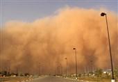 طوفان گرد و غبار بندرعباس را در بر گرفت