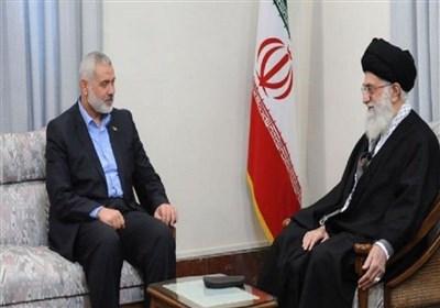 إسماعیل هنیة یبعث برسالة إلى قائد الثورة الإسلامیة