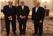 دیدار ظریف با رئیس اتاق بازرگانی مشترک ایتالیا و ایران