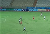 جام حذفی| تساوی یک نیمهای تیم پرسپولیس تهران و تیم شاهین بندر عامری بوشهر
