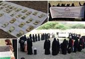 ابراز انزجار زنان یمنی از کشتار زنان و کودکان فلسطینی در غزه به دست صهیونیستها