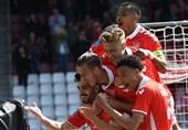 جام حذفی دانمارک  صعود ویل بولدکلوب در حضور 59 دقیقهای عزتاللهی