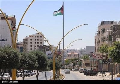 اضراب الشعب الفلسطینی فی الضفة الغربیة