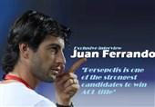 فراندو در گفتوگو با تسنیم: پرسپولیس یکی از اصلیترین کاندیداهای قهرمانی در آسیاست/ بازی دو بازیکن را پسندیدم